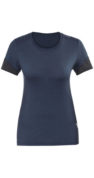 Lundhags Merino Light t-shirt Dames blauw